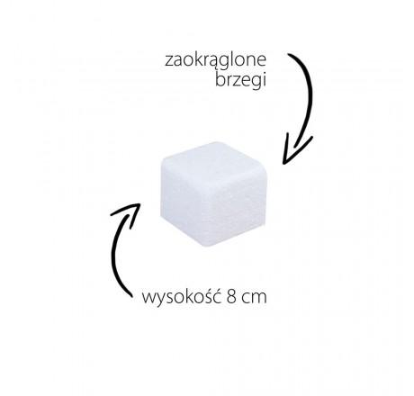 Styropian do tortów 10 cm atrapa kwadrat