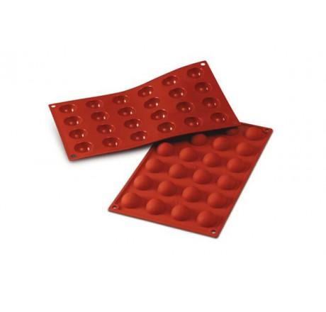SF006 Forma silikonowa HALF-SPHERE półkule 24 szt. 30.006.00.0060 Silikomart