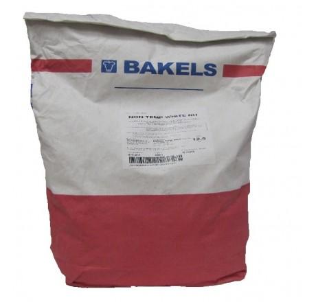 12,5 kg NON TEMP WHITE Surogat czekoladowy/polewa czekoladowa BIAŁA Bakels