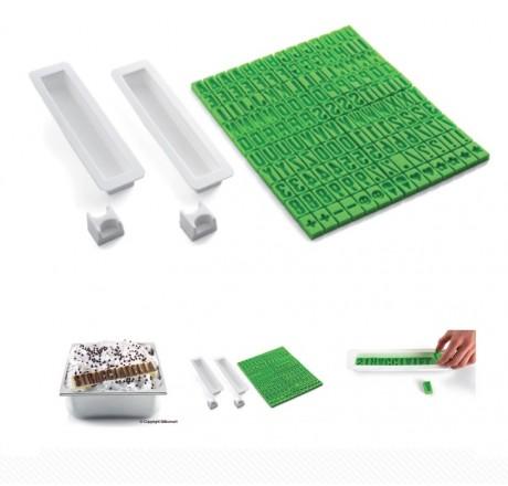 Forma silikonowa ALFABET Taste Puzzle 72.343.99.0065 Silikomart