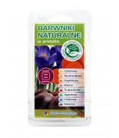 Zestaw barwników naturalnych 8 kolorów Food Colours NAT-P-01