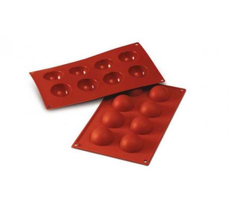 SF004 Forma silikonowa HALF SPHERES półkule 8 szt. 30.004.00.0060 Silikomart