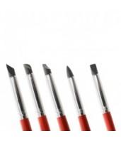 Pędzelki gumowe do modelowania i barwienia 30851 Modecor