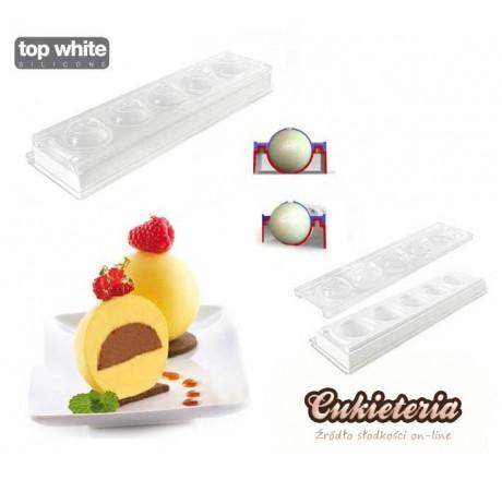 Forma silikonowa do lizaków Cupcake MUL3D Ø 48 – FORMA SFERA 25.303.99.0065 Silikomart