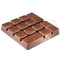Forma tabliczki Klawiatura numeryczna 1748CW Chocolate World