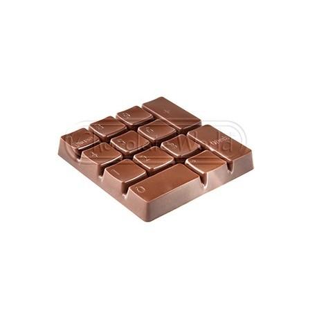 Forma do pralin Klawiatura numeryczna 1748CW Chocolate World