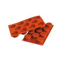 Forma silikonowa SF024 BIG MUFFIN na 5 porcji Silikomart 10.024.00.0000