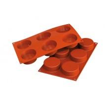Forma silikonowa SF 204 – Cylinders na 11 porcji Silikomart 36.204.00.0060