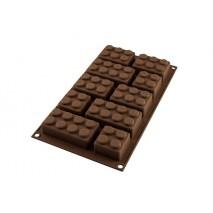 KLOCKI  Forma silikonowa do czekolady SF213 CHOCO BLOCK 26.213.77.0065 Silikomart