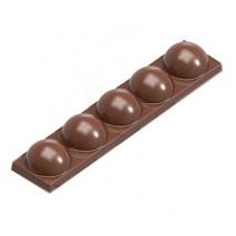 Forma do tabliczki czekolady Skośne linie 1769CW Chocolate World