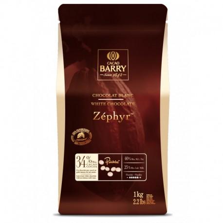 5kg Czekolada BIAŁA Zephyr 34% CHW-N34ZEPH Cacao Barry