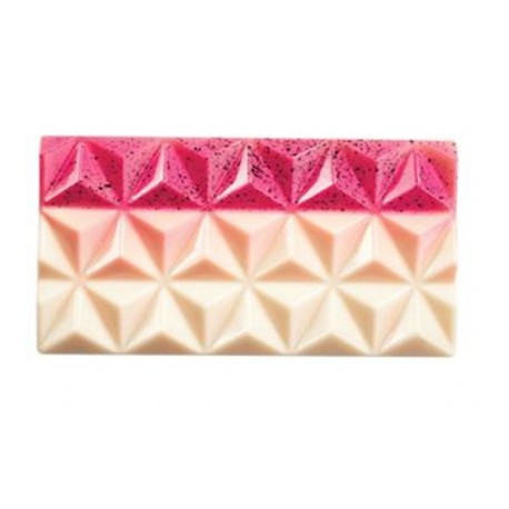 Forma do tabliczek czekolady Piramidki (3x) 13,8 x 7,2 po 80 gram Martellato