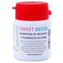 8g Barwnik CZERWIEŃ ALLURA spożywczy w PROSZKU Sweetdecor