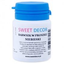 8g Barwnik NIEBIESKI spożywczy w PROSZKU Sweetdecor