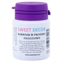 8g Barwnik FIOLETOWY spożywczy w PROSZKU Sweetdecor
