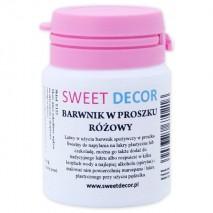 8g Barwnik RÓŻOWY spożywczy w PROSZKU Sweetdecor