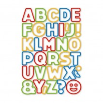 Alfabet Komplet wykrojników 34 szt. - litery 630925 Tescoma