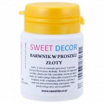 8g Barwnik ZŁOTY spożywczy w PROSZKU Sweetdecor