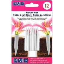 12 szt. Fiolki do żywych kwiatów małe FP300
