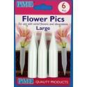 6 szt. Fiolki do żywych kwiatów duże FP302