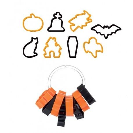 Foremki do wykrawania Halloween 8 wzorów 630907 Tescoma