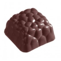 Forma do pralin Fantazyjny Kwadrat 1141CW Chocolate World