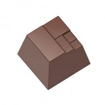 Forma do pralin Nowoczesny Kwadrat 1557CW Chocolate World