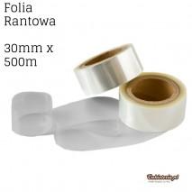 Folia Rantowa 30mmx500m PRZEZROCZYSTA bez nadruku