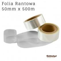 Folia Rantowa 50mmx500m PRZEZROCZYSTA bez nadruku