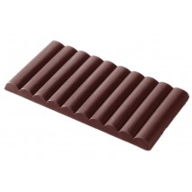 Forma do tabliczki czekolady 491g 2119CW 2x56g Chocolate World