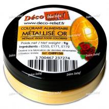 9 g CHPP150 Barwnik Metalizowany ZŁOTO Deco Relief