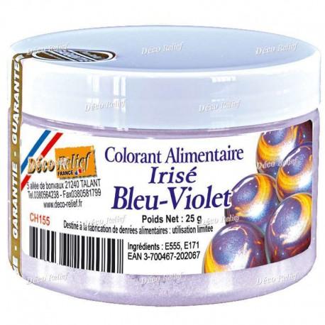 25 g CH155 Barwnik Opalizujący BLEU-VIOLET Deco Relief
