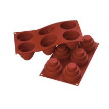 Forma silikonowa MINI WONDER CAKES SF148 36.148.00.0060 Silikomart