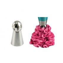 1 szt Tylka dekoracyjna kula BALL TUBE IRREGULAR 43.616.99.0001 Silikomart