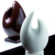 Zestaw ORGANIC KT140 Formy Wielkanocne Jajka do czekolady Pavoni