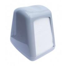 SERWETNIK Plastikowy BIAŁY 17x17 Carpino