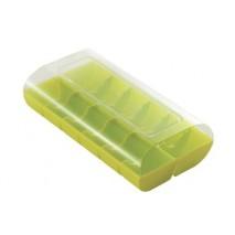 MCR01 Pudełko plastikowe na makaroniki ZIELONE Silikomart