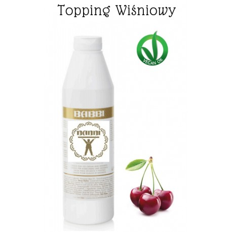 1kg Topping Amarena WIŚNIOWY 13201 Babbi