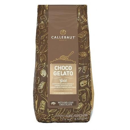1,6kg CHOCO GELATO GOLD Gotowa mieszanka do lodów CZEKOLADA KARMELOWA MXK-ICE60-V99 Callebaut