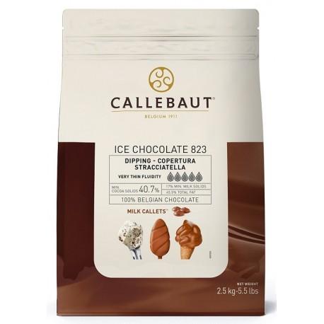 2,5kg ICE CHOCOLATE MILK 40,7% ICE-45-MNV-116 Mleczna czekolada do lodów Callebaut