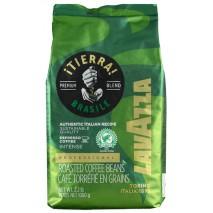 1kg Kawa ziarnista TIERRA BRASILE Premium Blend 70% Arabica 30% Robusta Lavazza