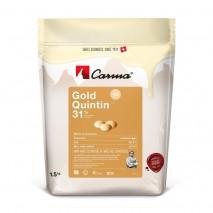 1,5 kg Czekolada Biała Karmelowa GOLD QUINTIN CHW-R118GOLDE6-Z71 31% Carma