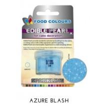 4,1g Pudrowy PERŁOWY Barwnik spożywczy AZURE BLASH (Niebieski jasny) P080 Food Colours