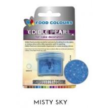 3,1g Pudrowy PERŁOWY Barwnik spożywczy MISTY SKY (Niebieski ciemny) P084 Food Colours