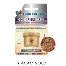 3,5g Pudrowy PERŁOWY Barwnik spożywczy COCOA GOLD (Złoty ciemny) P022 Food Colours