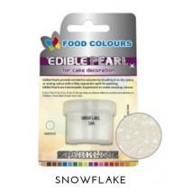 4,3g Pudrowy PERŁOWY Barwnik spożywczy SNOWFLAKE (Srebrny jasny) P104 Food Colours