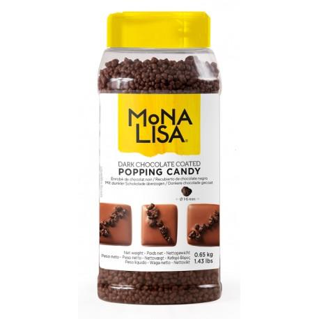 650g Drobna Posypka STRZELAJĄCA w gorzkiej czekoladzie CHD-PN-6330-EX-999 Mona Lisa