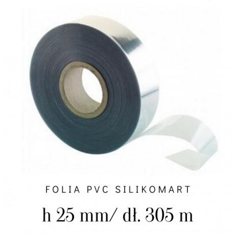 Folia rantowa bez nadruku PVC ROLL H25 mm/305 m 73.471.86.0001 Silikomart