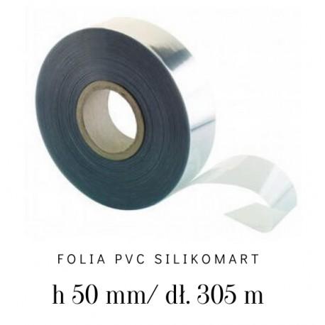 Folia rantowa bez nadruku PVC ROLL H50 mm/305 m 73.476.86.0001 Silikomart