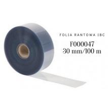 Folia rantowa z czystego Rhodoidu h 30 mm/dł. 100 m F000047 IBC
